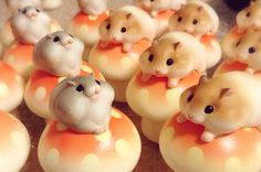 Hamuco hamsters are adorable miniature hamsters that are handcrafted and handpainted by artist Nakano Yoshi-ho. Read where to get them in this post.