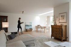 tafel porro beam - kleed sand bic carpets Portfolio van Domez, Interieurarchitecten in Woerden