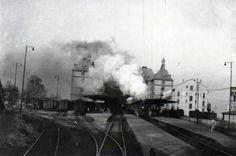 Buharlı Lokomotif #Haydarpaşa - Steam Locomotive, Haydarpasa, Istanbul #oldphotos #birzamanlar #eskiistanbul #istanlook