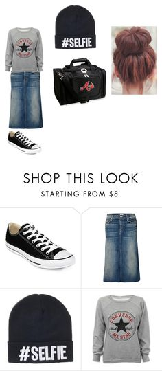 """""""School outfit"""" by apostolicdaughter on Polyvore featuring Converse, Mother, women's clothing, women, female, woman, misses and juniors"""