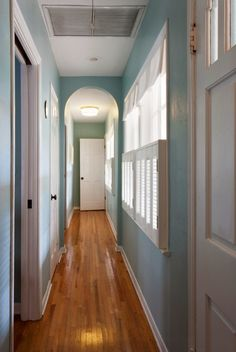 House of Turquoise: Margaux Interiors LOVE the contrast between the lovely floors and gorgeous painted walls. The shutters add so much charm. LOVE this!