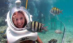 Blue Water Sea Trek Helmet Diving and Snorkel
