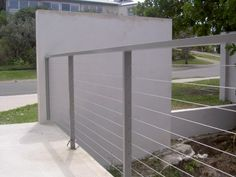 CDF manufactures and installs pool fences and glass pool fences in Brisbane. Balcony Railing, Deck Railings, Stair Railing, Cable Railing, Roof Deck, Glass Pool Fencing, Pool Fence, Exterior Stairs, Interior And Exterior