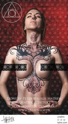 Peter Walrus Madsen | Tattrx tumblr: meatshoptattoo