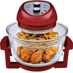 Big Boss 9063 1300-watt Oil-Less Fryer - color doesn't matter to me, red or black