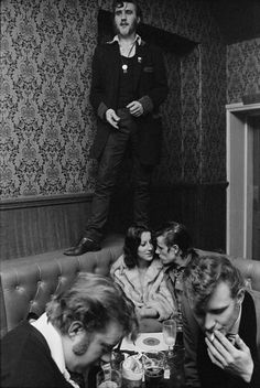 Chris Steele-Perkins. Barry Ransome in The Castle, Old Kent Road 1976