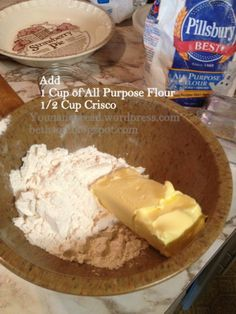 First thing, I just learned this about pie crust so before we get started I'm sharing it with you. If you are cooking an empty pie shell you put the little fork marks in it to get the air a…