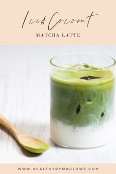 While I can't get Matcha down as a hot tea, I do love it as an iced coconut matcha latte. I can drink one every day! Top Recipes, Drink Recipes, Real Food Recipes, Healthy Breakfast Recipes, Healthy Drinks, Healthy Food, Japanese Matcha Tea, Matcha Latte Recipe, Matcha Tea Powder