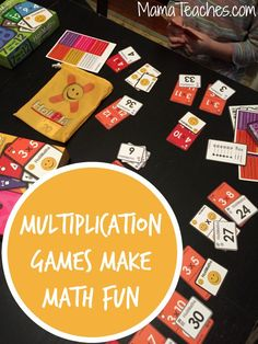 Multiplication Games Make Math Fun - MamaTeaches.com