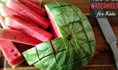 The Genius Way To Cut A Watermelon