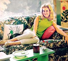 we all enjoyed Elizabeth Montgomery bewitching her dopey husband Durward.  Her father was a movie star.
