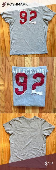 ⚡️🎉 JUST REDUCED A&F Men's Burnout T-shirt Sz XL Abercrombie & Fitch Men's Burnout Logo Muscle T-shirt Sz XL Great Condition. No stains. Smoke Free, Pet Free Home. Abercrombie & Fitch Shirts Tees - Short Sleeve