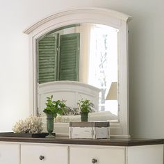 SATURDAY - 6/9/12 - Arched Beveled Edge Mirror
