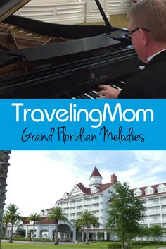One of the best features of a stay at the Grand Floridian at Walt Disney World is the music! Find out all about the sounds and sights in one of Disney's most magnificent resort hotels.