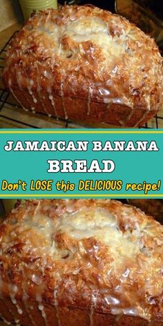 JAMAICAN BANANA BREAD Banana bread remains one of Jamaica's favourite pastries! It's truly a mouth-watering Jamaican dessert that has been passed down from generation to generation. Jamaican Desserts, Jamaican Recipes, Banana Bread Recipes, Cake Recipes, Dessert Recipes, Banana Bread Cookies, Jamaica Banana Bread Recipe, 2 Bananas Banana Bread, Hawaiian Banana Bread Recipe