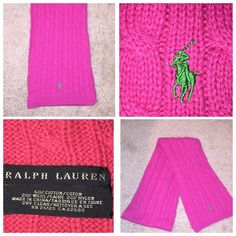 Polo sweater scarf Perfect condition Polo by Ralph Lauren Accessories Scarves & Wraps