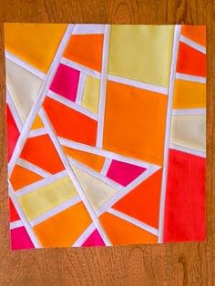 the confused quilter: Bee Prep Work & The Monument Fire.................................love this.
