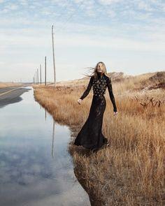 Ieva Laguna stars in Harper's Bazaar Kazakhstan Magazine February 2016 issue