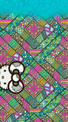Image in Hello kitty collection by ป่านแก้ว on We Heart It Hello Kitty Backgrounds, Hello Kitty Wallpaper, Cute Wallpapers, Wallpaper Backgrounds, Iphone Wallpapers, Pink Walpaper, Sanrio Wallpaper, Hello Kitty Pictures, Hello Kitty Collection