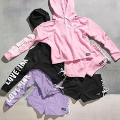 34 Ideas For Fitness Outfits Women Victoria Secret Vs Pink Holiday Outfits For Teens, Outfits For Teens For School, Casual Summer Outfits, Winter Outfits, Casual Winter, Holiday Clothes, Casual Bags, Teen Girl Outfits, Pink Outfits