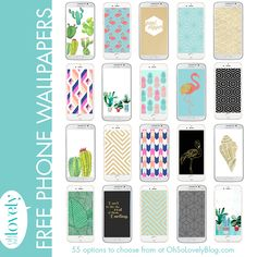 Oh So Lovely Blog: FREEBIES  //  FREE SMART PHONE WALLPAPERS
