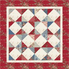 """Simple and beautiful pattern.  Image from """"Bitten by"""" blog --...: June 2011"""
