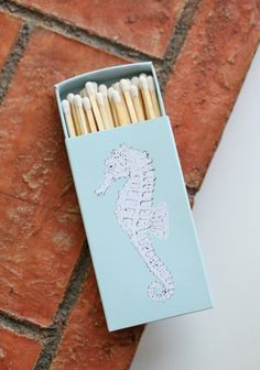 Sea Horse Match Box - It's the lovely little things that make me smile.