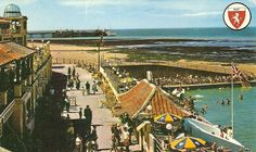 Thanet coast life: The Lido swimming pool Cliftonville.