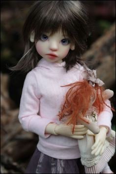 JpopDolls.net - Dolls   Kaye Wiggs Dolls    Izzy Human in Fair Skin