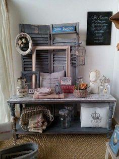 Furniture and deco by L'atelier du chat botté, gorgeous!
