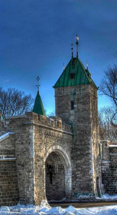 St. Louis Gate, Quebec, Canada