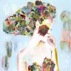 "Saatchi Art Artist wyanne thompson; Painting, ""Mere Existence is Beauty"" #art"