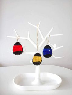 Star Trek Easter decorations, The Next Generation uniform eggs, Star Trek home decor, nerd/sci-fi decorations, trekkie gift idea
