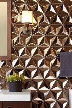 Ogassian tiles for Ann Sacks, £870 sq metre (annsacks.com) - London Evening Standard