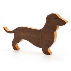 wiener dog cut out