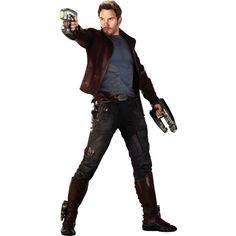 Peter Quill ❤ liked on Polyvore featuring guardians of the galaxy and marvel