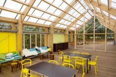 Spektrum Arkitekter Unveils a Rugged Semi-Outdoor Community Hub in Northern Denmark | Inhabitat - Sustainable Design Innovation, Eco Architecture, Green Building