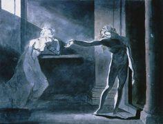 Henry Fuseli, Hamlet & Ophelia