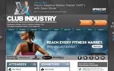 Show Promotion Website Winners  Penton Media  Club Industry  Between 50,000 & 150,000 nsf #tradeshow #sign #design #IAEE_HQ #IAEE_AOS