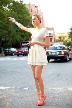 summer chic #streetstyle #fashion