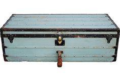 Antique Louis Vuitton Trunk on OneKingsLane.com #onekingslane  #designisneverdone