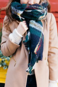 Christmas colors meet classic street style on the fashion blog   Kylen Every Wear