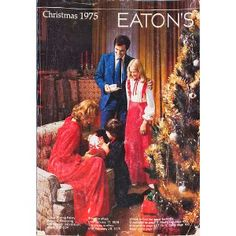 Eaton's Catalogue: Christmas 1975. Everything our hearts desired was in the book!  I was so sad when Eatons went out of business.