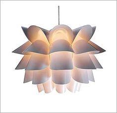 Lámparas look años 70:  Luz tamizada