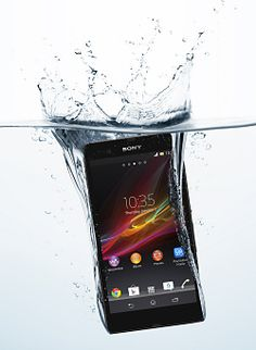 Sony Xperia Z  - powerful, big-screen Android phone that is also waterproof.