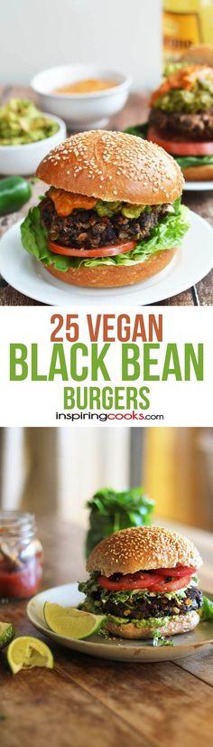 The 25 Best Vegan Black Bean Burger Recipes
