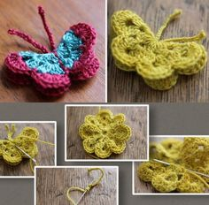 Crochet Butterfly Pattern