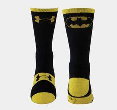 Men's Under Armour® Alter Ego Batman Crew Socks