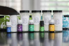 DIY Bath Salts with Young Living Essential Oils : Independent Distributor :  Sasha Stanley :  Member Number 1849493