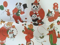 Vintage Christmas Wrapping Paper by Gordon by TheGOOSEandTheHOUND